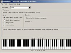 CFugue MusicNote Library  Screenshot
