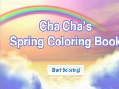 Cha Cha Spring Coloring 1.1 Screenshot