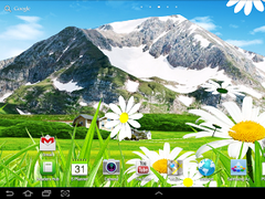 Chamomiles 3D live wallpaper 1.0.4 Screenshot