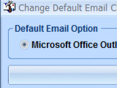 Change Default Email Client To MS Outlook or Outlook Express Software 7.0 Screenshot