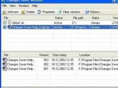 Changes Saver 2.2 Screenshot