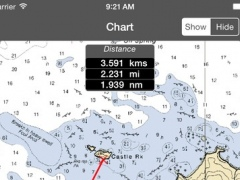 Channel Islands (California, USA) - Raster Nautical Charts 1.0 Screenshot
