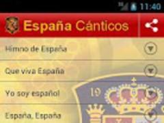 Chants Spain 3.1 Screenshot