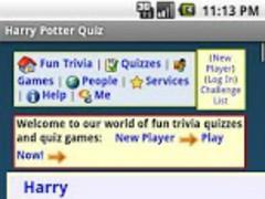 Character Quiz - HP 1.0 Screenshot