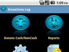 Charitable Donations Log 3.0 Screenshot