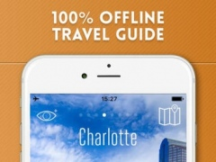Charlotte Travel Guide and Offline City Map 1.1 Screenshot