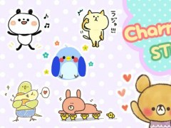Charming bear Stickers Free 1.0.10 Screenshot