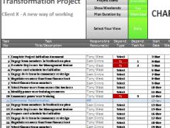 Chartgantt Basic Demo 2.2 Screenshot