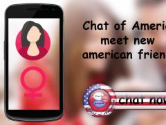 Chat of America : Meet Me 6.8 Screenshot
