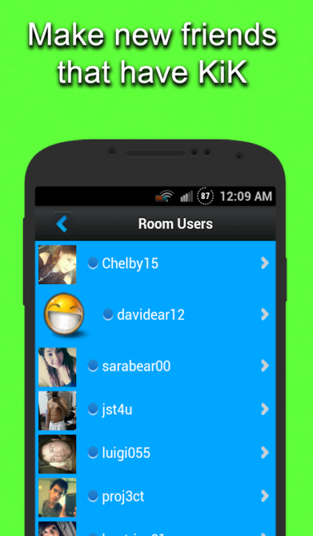 Chat Rooms for KIK 1.3.1 Free Download