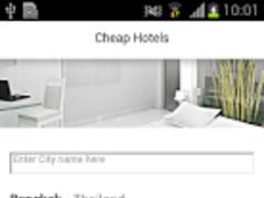 Cheap Hotels Booking 1.1 Screenshot
