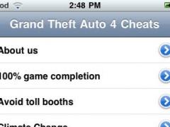 Cheats for Grand Theft Auto IV 1.2 Screenshot