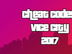 Cheats For GTA Vice City 2017 1 0 Free Download
