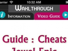 Cheats for Jewel Epic + Tips & Tricks, Strategy, Walkthroughs & MORE 1.2 Screenshot