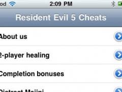 Cheats for Resident Evil 5 1.0 Screenshot