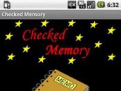 CheckedMemory 1.0 Screenshot