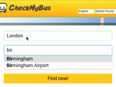 CheckMyBus Compare all Busses 1.7 Screenshot
