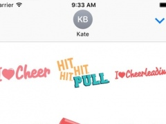 Cheer Stickers 1.0 Screenshot