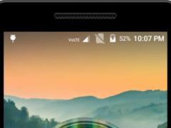 Cheetah Clock Live Wallpaper 1.0 Screenshot