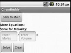 ChemBuddy Lite 2.0 Screenshot