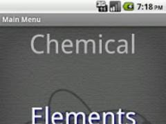 Chemical Elements 1.1.8 Screenshot