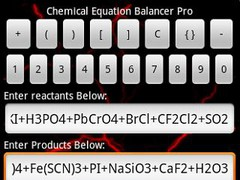 Chemical Equation Balancer Pro 1.0 Screenshot