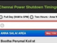 Chennai Power 0.1 Screenshot