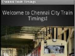 Chennai Train Timings! (CTT)  Screenshot