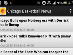 Chicago Basketball News 2.0 Screenshot
