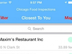 Chicago Food Inspections 1.2 Screenshot