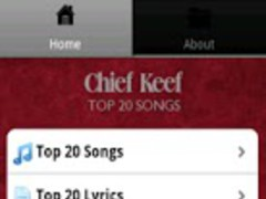 Chief Keef Songs 1.0 Screenshot