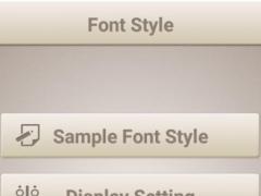 Children Font Style 1.0 Screenshot