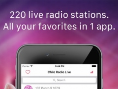 Chile Radio Live FM (Santiago, Spanish, español) 1.0 Screenshot