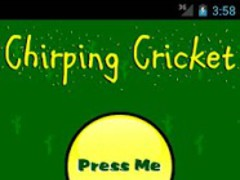 Chirping Cricket 1.0.1 Screenshot