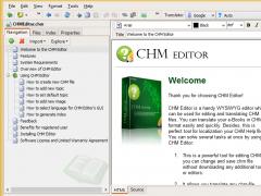 CHM Editor 3.0.9 Screenshot