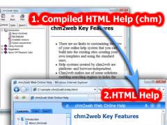 chm2web 2.8 Screenshot