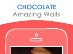 Chocolate Design Wallpaper - Delicious Themes 4.3 Screenshot