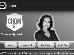 CHOM 97.7 2.5.3 Screenshot
