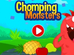 Chomping Monsters - Fruits Puzzles Games For Kids 1.0 Screenshot