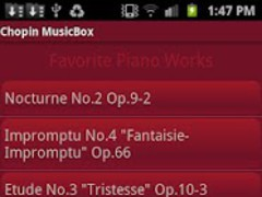 Chopin MusicBox 4.0 Screenshot