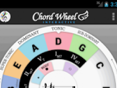 Chord Wheel: Circle of 5ths LE 5.0 Screenshot