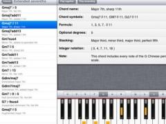 ChordFinder for iPad 1.0.0 Screenshot