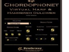 Chordophonet Virtual Harp & Dulcimer VST 1.0 Screenshot