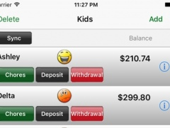 Chore Bank 2.5 Screenshot