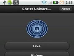 Christ University - Live TV 1.4 Screenshot