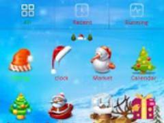Christmas 2012 Go Launcher 2.0 Screenshot