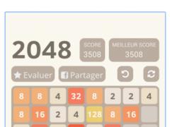 Christmas 2048 Puzzle 2 Screenshot