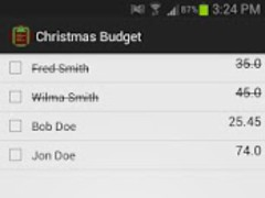 Christmas Budget 12.12 Screenshot