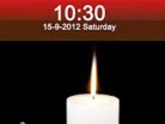 Christmas Candle Locker 2.2 Screenshot