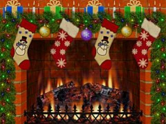 Christmas Decorated Fireplace 1.5 Screenshot